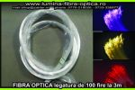 Fibra optica 0.75mm legatura de 100 fire /3m