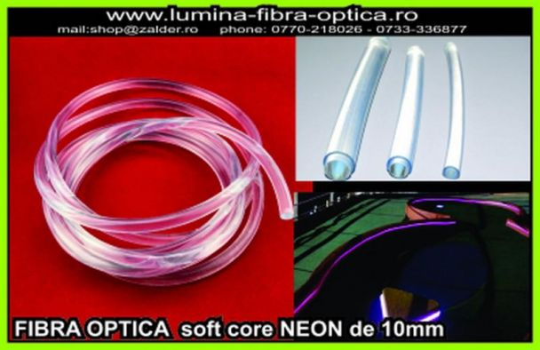 Fibra optica NEON 10mm la sul de 30m